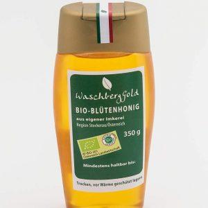 Waschberg Gold Bio-Blütenhonig Quetschflasche